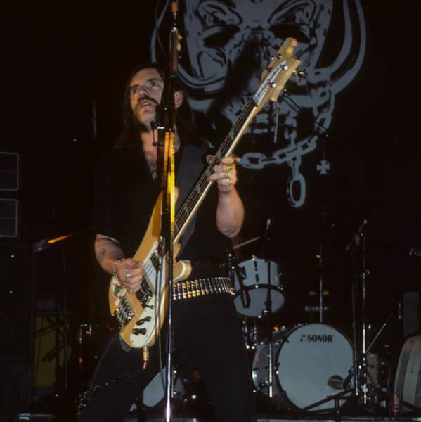 Photograph - Lemmy Kilmister Of Motorhead by Rich Fuscia