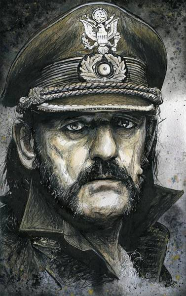 Wall Art - Painting - Lemmy by Nate Michaels