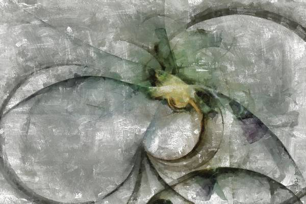 Lurksart Painting - Lemniscatic Fancy  Id 16098-021154-72820 by S Lurk