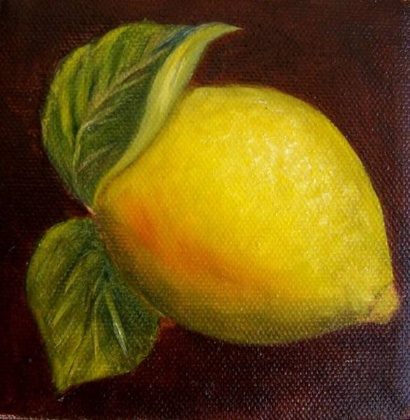 Painting - Lemon 9 by Susan Dehlinger