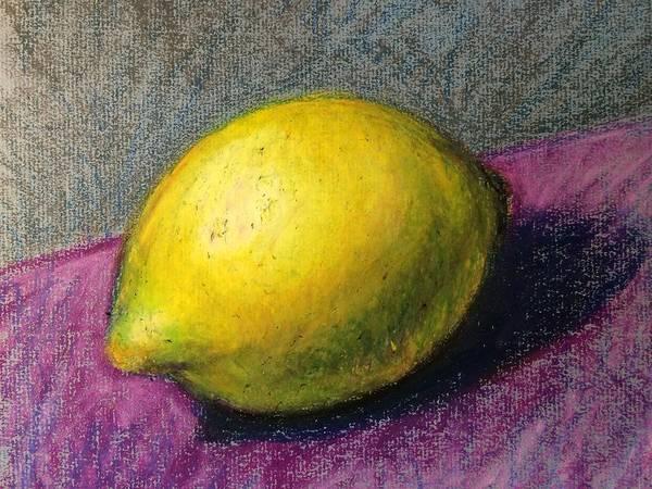 Pastel - Lemon by Lisa DuBois