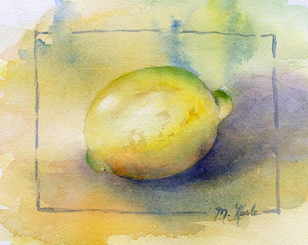Painting - Lemon by Marsha Karle
