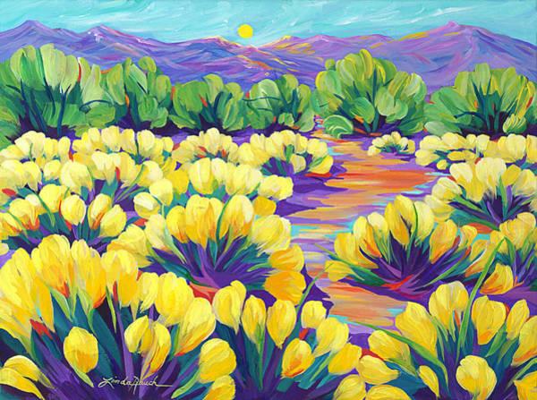 Painting - Lemon Meringue Afternoon by Linda Rauch