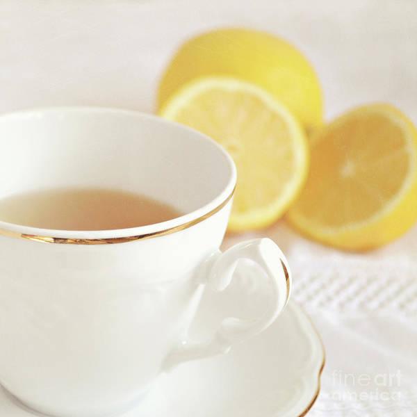 Wall Art - Photograph - Lemon Tea by Lyn Randle