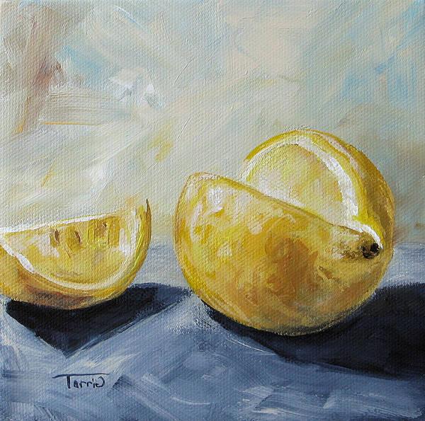 Wall Art - Painting - Lemon by Torrie Smiley