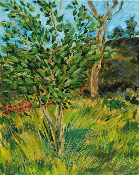 Laguna Beach Mixed Media - Lemon Tree by Russell Pierce