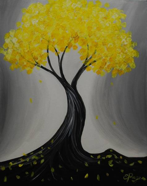 Painting - Lemon Twist by Emily Page