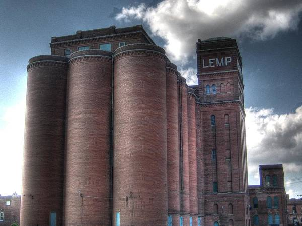 Linder Wall Art - Photograph - Lemp Brewery by Jane Linders