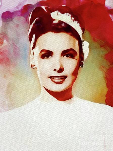 John Singer Painting - Lena Horne, Singer, Dancer, Actress by John Springfield
