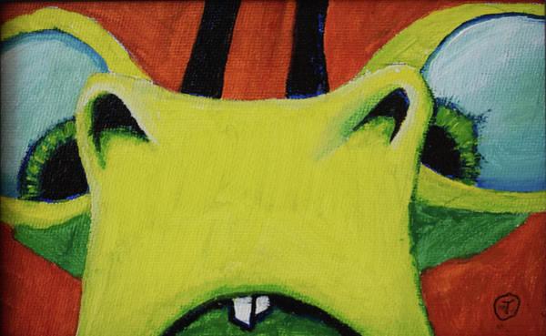 Painting - Lence Bug by Thomas Olsen