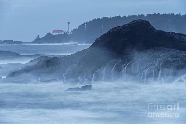 Photograph - Lennard Island Lighthouse by Carrie Cole