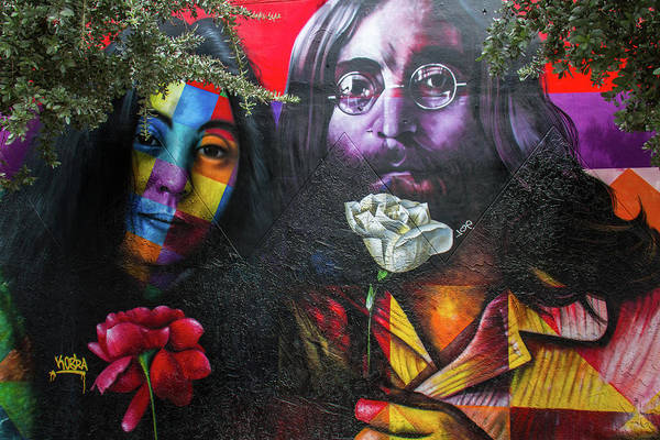 Wynwood Photograph - Lennon And Ono by Mike Burgquist