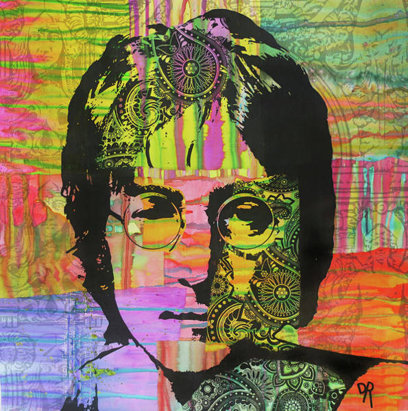 Painting - Lennon Deco by Dean Russo Art