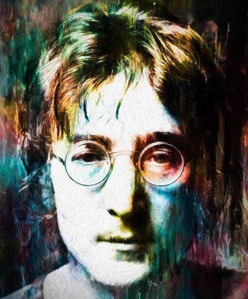 Wall Art - Painting - Lennon Tribute by Dan Sproul