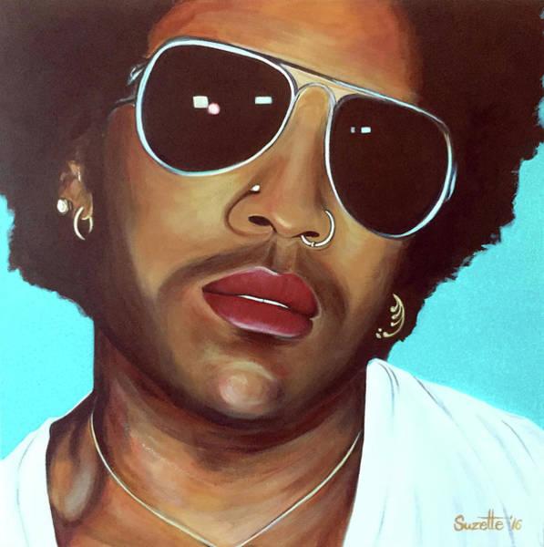 Rockstar Painting - Lenny Kravitz by Suzette Castro
