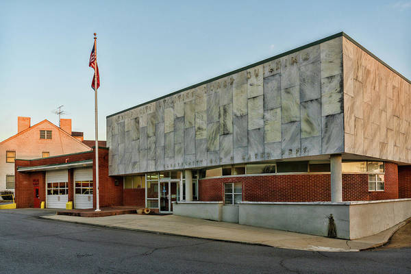 Photograph - Lenoir City Fire Department by Sharon Popek