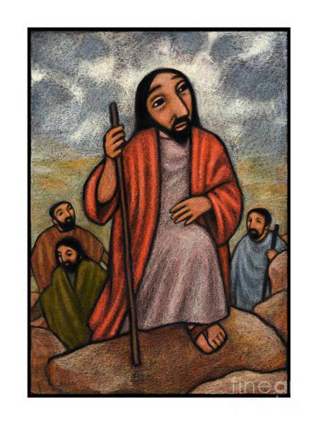 Painting - Lent, 2nd Sunday - Climbing Mount Tabor - Jlcmt by Julie Lonneman
