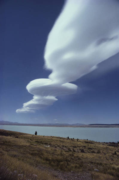 Photograph - Lenticular Cloud by Brian Brake