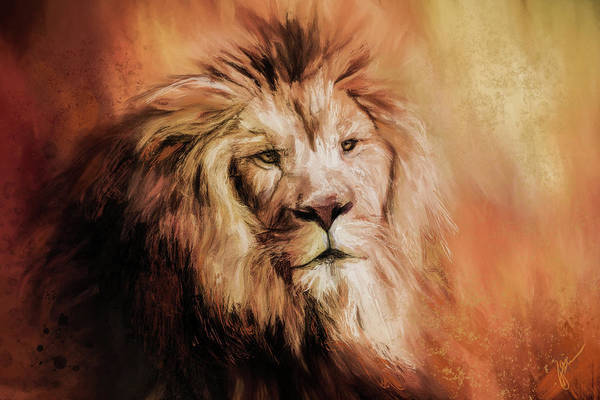 Painting - Leo Abstract by Jai Johnson