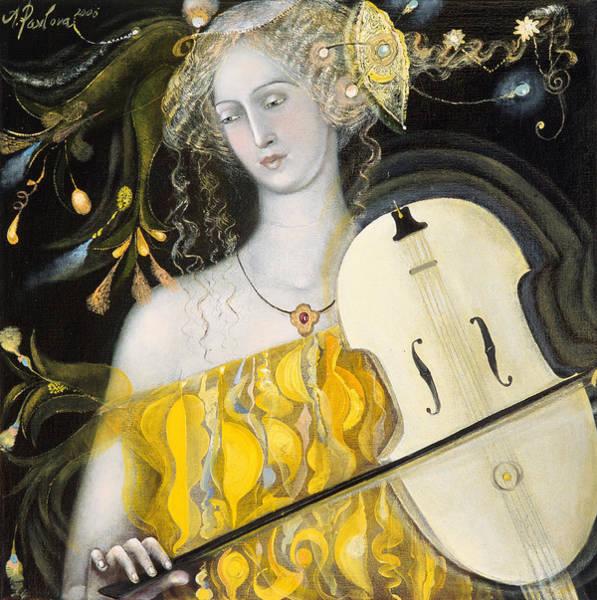 Violinist Wall Art - Painting - Leo by Annael Anelia Pavlova