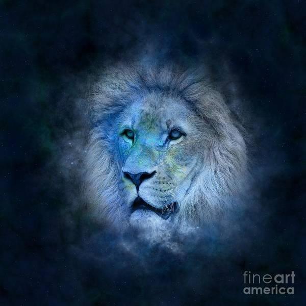 Satanism Digital Art - Leo by Frederick Holiday