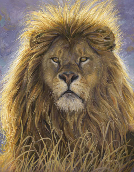 Wall Art - Painting - Leo by Lucie Bilodeau