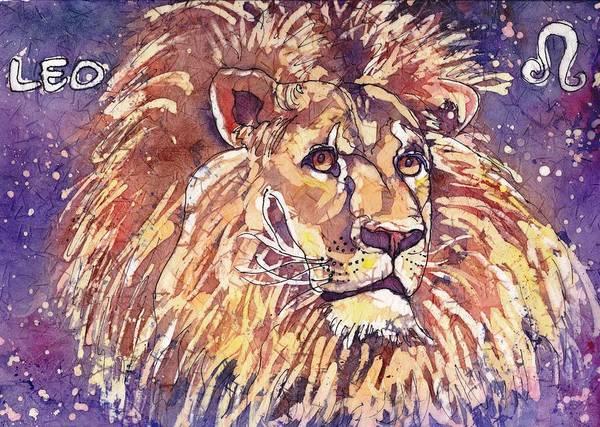 Painting - Leo by Ruth Kamenev