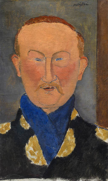 Painting - Leon Bakst by Amedeo Modigliani