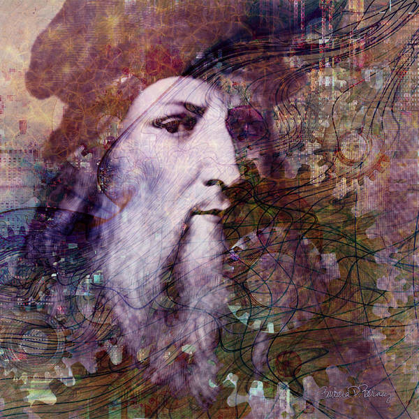 Digital Art - Leonardo by Barbara Berney