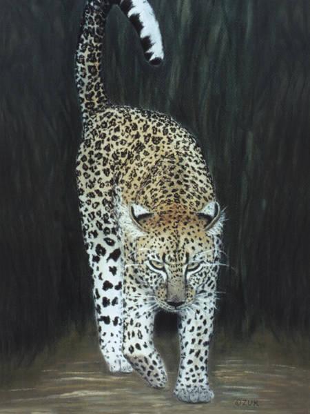 Painting - Leopard by Karen Zuk Rosenblatt