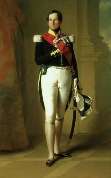 I Dream Painting - Leopold I - King Of The Belgians by Mountain Dreams