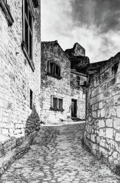 Photograph - Les Baux De Provence 10 Bw by Mel Steinhauer