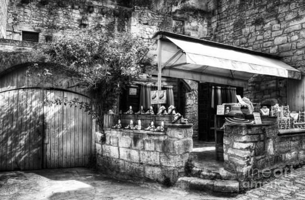 Photograph - Les Baux De Provence 5 Bw by Mel Steinhauer