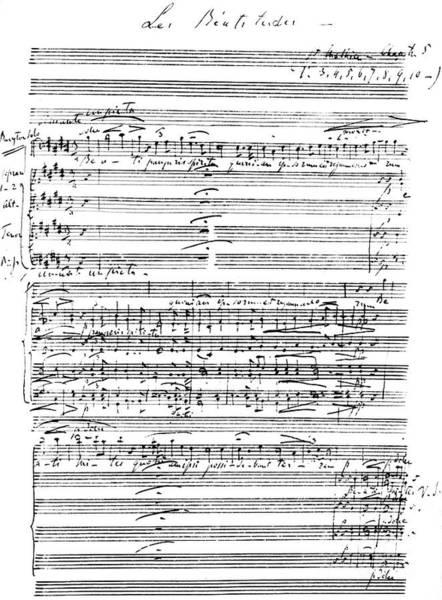 Wall Art - Photograph - Les Beatitudes by Franz Liszt