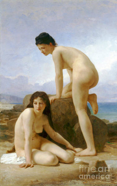 Wall Art - Photograph - Les Deux Baigneuses 1884 by Padre Art