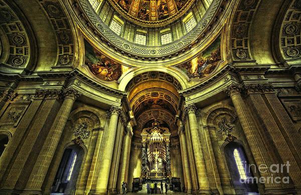 Invalides Photograph - Les Invalides  Paris by Charuhas Images