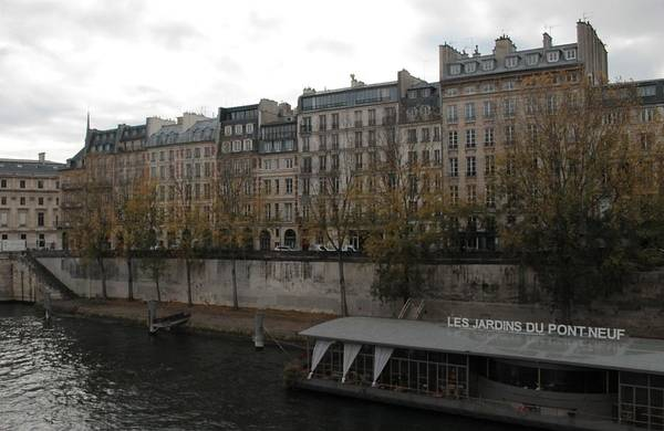 Photograph - Les Jardins Du Pont Neuf by Christopher Kirby
