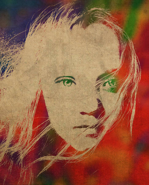 Wall Art - Mixed Media - Les Miserables Watercolor Portrait Series 001 by Design Turnpike