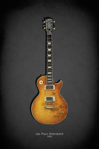 Wall Art - Photograph - Les Paul Standard 1959 by Mark Rogan