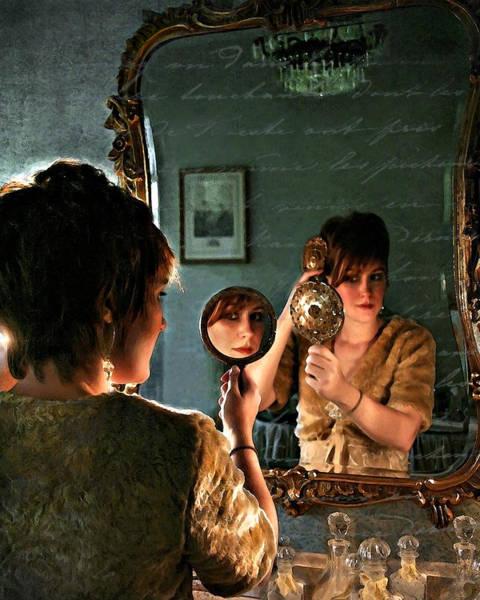 Photograph - Les Reflexions De Femme by Jean Hildebrant
