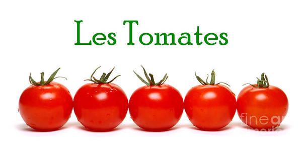 Photograph - Les Tomates by Olivier Le Queinec