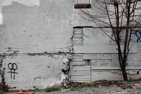 Crumble Photograph - Lesbian Wall by Kreddible Trout