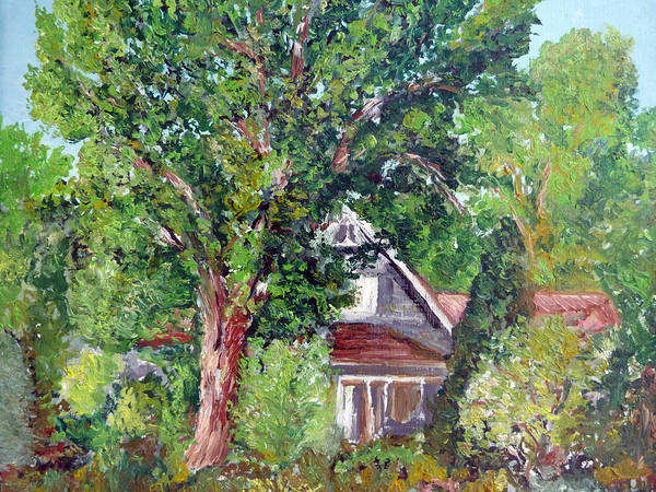 Painting - Lesher Homestead Boulder Co by Tom Roderick
