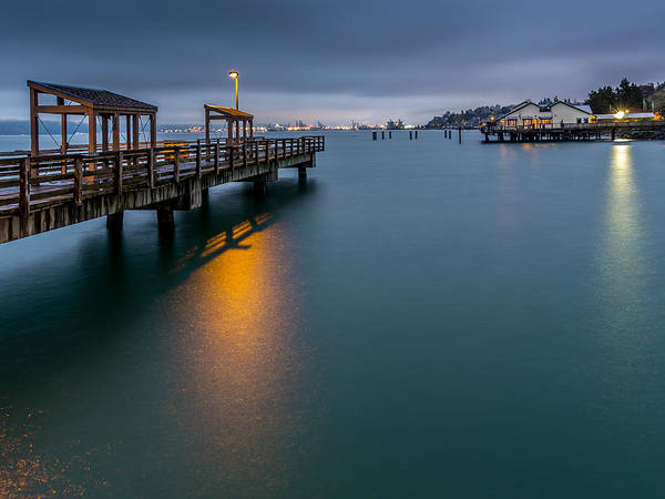 Photograph - Less Davis Pier Commencement Bay by Rob Green