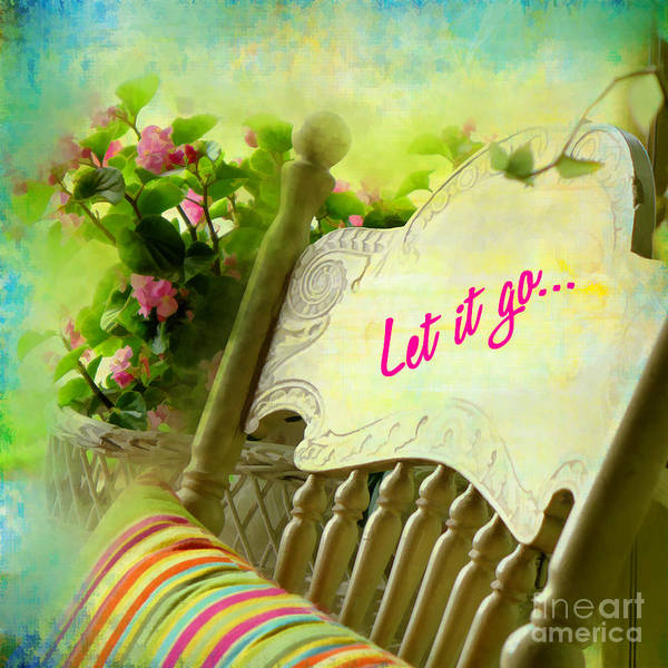 Digital Art - Let It Go 2017 by Kathryn Strick