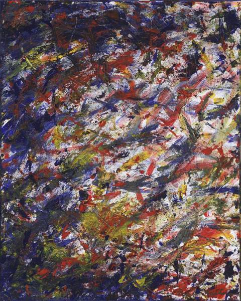 Painting - Let It Go - Panel 2 Of Triptych by Angela Bushman