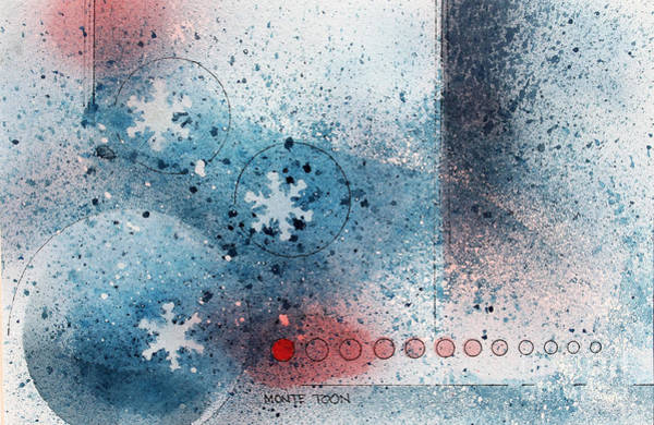 Painting - Let It Snow by Monte Toon