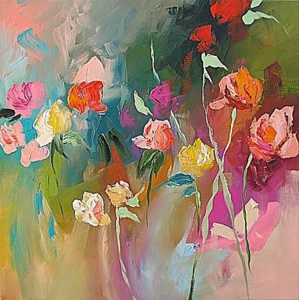 Fauve Painting - Let by Linda Monfort