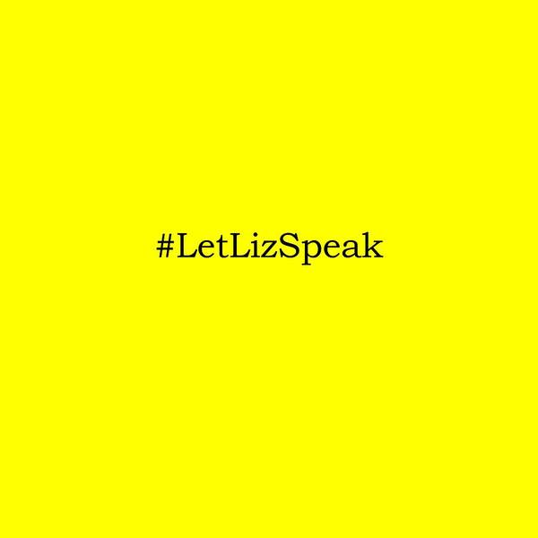 Public Speaker Photograph - Let Liz Speak 2 by Paulette B Wright