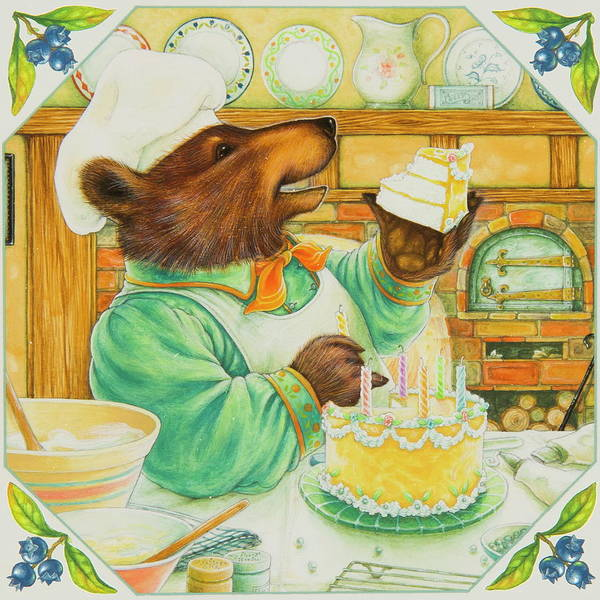 Fairy Cakes Painting - Let Me Eat Cake by Lynn Bywaters